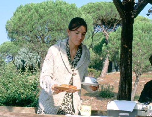 aurelia maid clearing cup ruin book love actually