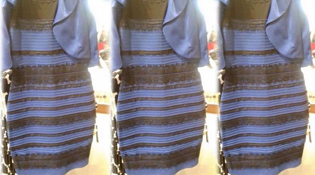 the dress blue and black white and gold 2015 viral hysteria