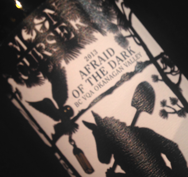 are you afraid of the dark wine