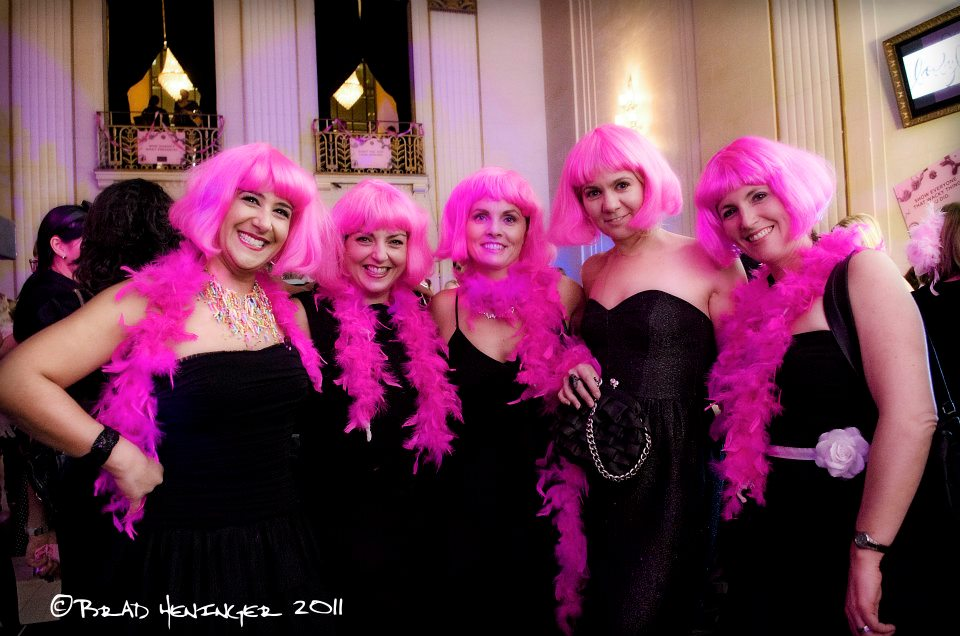 booby ball 2011 heninger photography pink ladies calgary