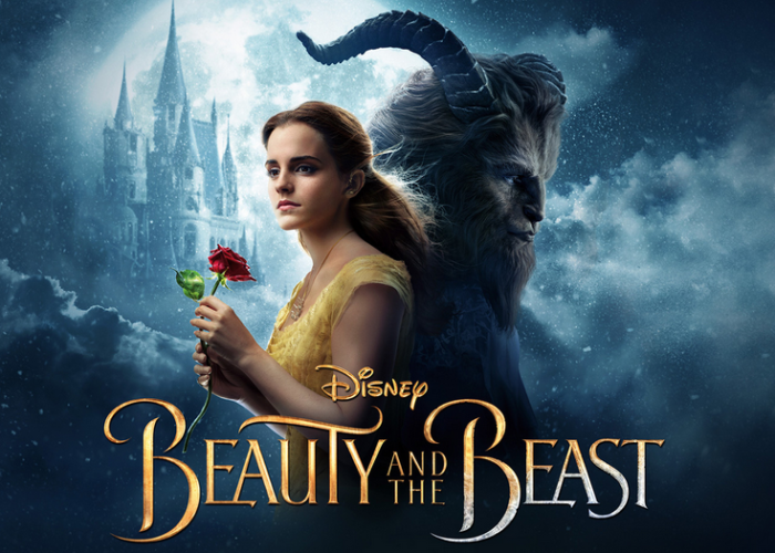 beauty and the beast movie poster 2017