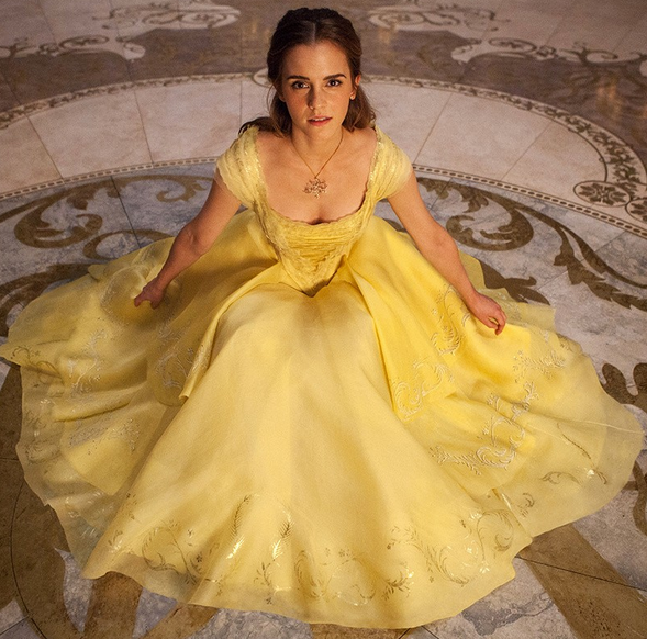 belle's dress beauty and the beast