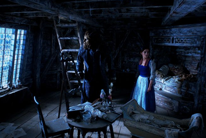 belle beauty and the beast plague